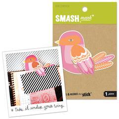 K & Company SMASH* Bookmark Birdie