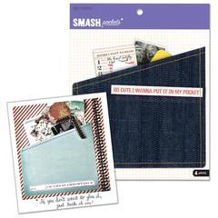 K & Company SMASH* Folder Style Pockets 4-Pack