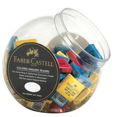 Color Kneaded Eraser Display