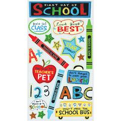 Classic Stickers 1st Day School