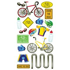 Classic Stickers Metallic Biking