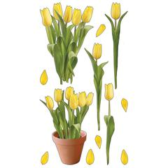 Sticko Photo Stickers Yellow Tulips