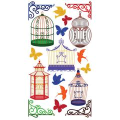 Classic Stickers Bird Cages