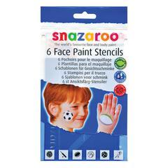 Boy Themed Face Paint Stencil Set