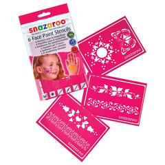 Girl Themed Face Paint Stencil Set