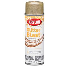 Krylon Glitter Blast Spray Golden Glow