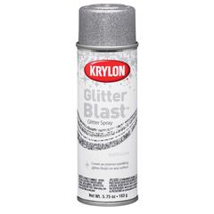 Krylon Glitter Blast Spray Silver Flash