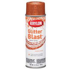 Krylon Glitter Blast Spray Orange Burst