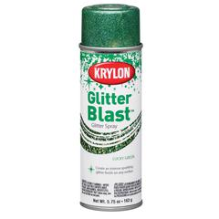 Krylon Glitter Blast Spray Lucky Green