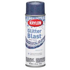 Krylon Glitter Blast Spray Twilight Sky
