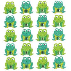 Repeat Sticker Frogs
