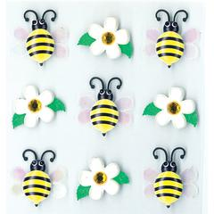 Jolee's Boutique Adhesive Cabochons Bumblebees