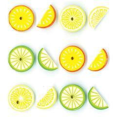 Jolee's Boutique Adhesive Cabochons Citrus