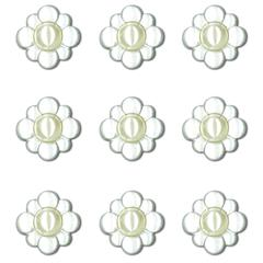 Adhesive Cabochons Pearl Clusters