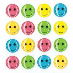 Jolee's Boutique Adhesive Cabochons Bright Smiley Face
