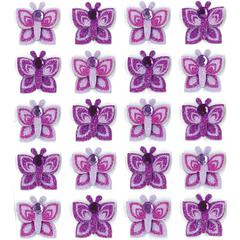 Repeat Sticker Purple Butterfly