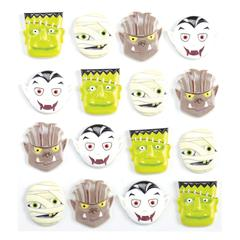 Jolee's Boutique Adhesive Cabochons Monster Heads