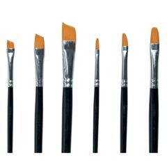 Golden Taklon Angles & Filberts Brush Assortment