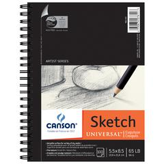 "5.5"" x 8.5"" Sketch Sheet Pad"