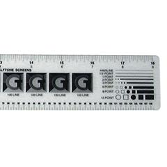 "18"" Graphic Arts Ruler"