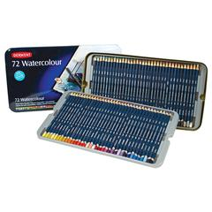 Derwent Watercolor Pencil 72-Color Tin Set