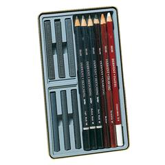 Sketching 12-Piece Tin Set