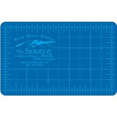 Blue/Gray Self-Healing Hobby Mat 3 1/2 x 5 1/2