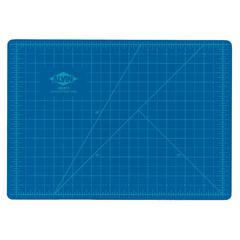 Blue/Gray Self-Healing Hobby Mat 8 1/2 x 12