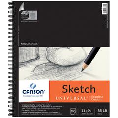 "Canson Artist Series Universal 11"" x 14"" Sketch Sheet Pad"
