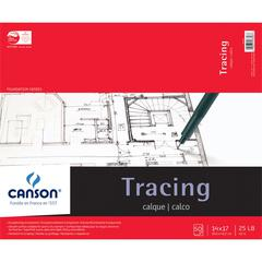 "Canson Foundation Series 14"" x 17"" Tracing Paper Pad"