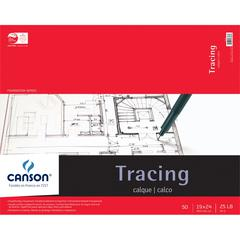 "Canson Foundation Series 19"" x 24"" Tracing Paper Pad"