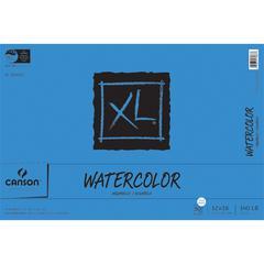 "Canson XL 12"" x 18"" Watercolor Cold Press Sheet Pad"