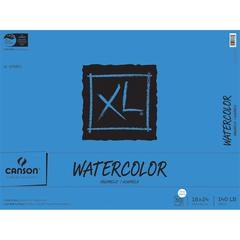 "Canson XL 18"" x 24"" Watercolor Cold Press Sheet Pad"