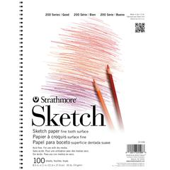 "Strathmore 200 Series 8.5"" x 11"" Wire Bound Sketch Pad"