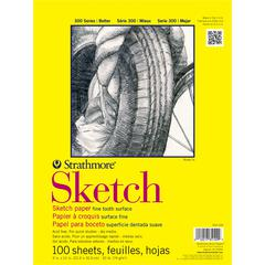 "9"" x 12"" Glue Bound Sketch Pad"