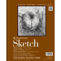 "Strathmore 400 Series 9"" x 12"" Wire Bound Sketch Pad"