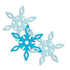 EK Success Garland Punch Snowflake