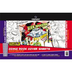 Comic Book Cover Sheet Pad