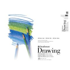 "Strathmore 200 Series 18"" x 24"" Tape Bound Drawing Pad"
