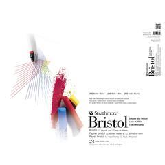 "19"" x 24"" Smooth/Vellum Tape Bound Bristol Pad"