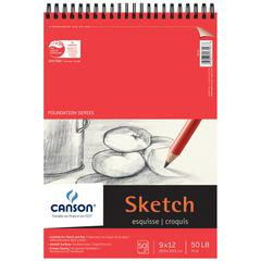 "9"" x 12"" Foundation Sketch Sheet Pad"