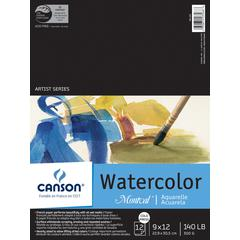 "9"" x 12"" Watercolor Cold Press Sheet Pad"
