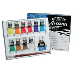 Winsor & Newton Artisan Water Mixable Oil 10-Color Studio Set