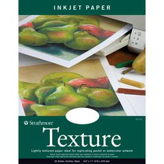 """8.5"""" x 11"""" Fluorescent White Wove Texture Inkjet Papers"""