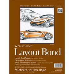 "Strathmore 400 Series 9"" x 12"" Glue Bound Layout Bond Pad"