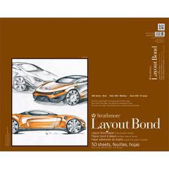 "Strathmore 400 Series 19"" x 24"" Glue Bound Layout Bond Pad"