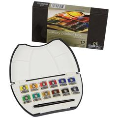 Watercolor 12-Color Pocketbox Set