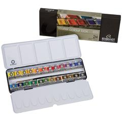 Royal Talens Rembrandt Artists' Watercolor 24-Color Set