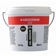 Matte Heavy Gel Medium 1 Liter tub