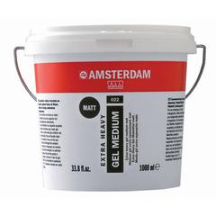 Royal Talens Amsterdam All Acrylic Matte Extra Heavy Gel Medium 1 Liter tub